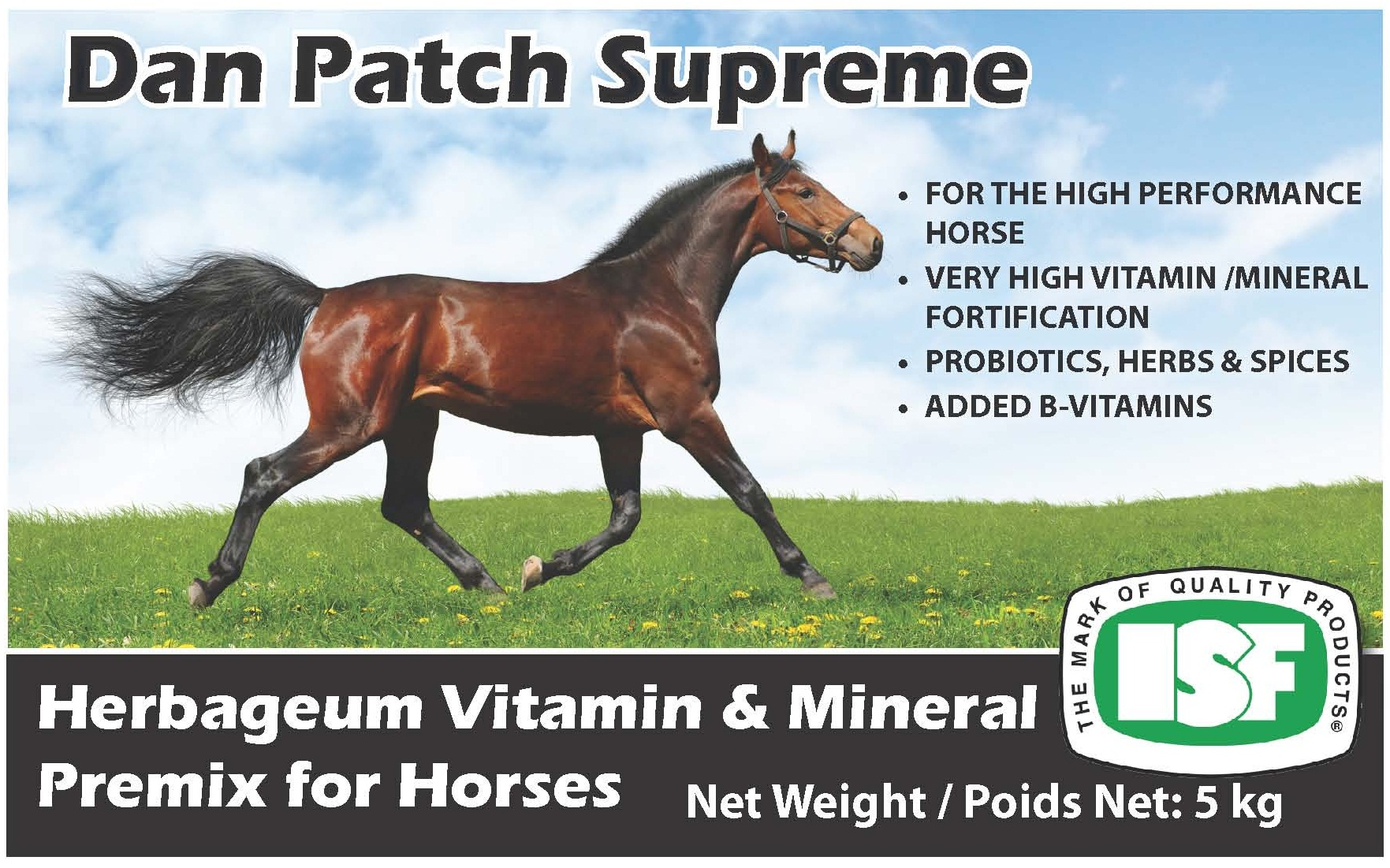 Concentrated Vitamin & Mineral for Horses