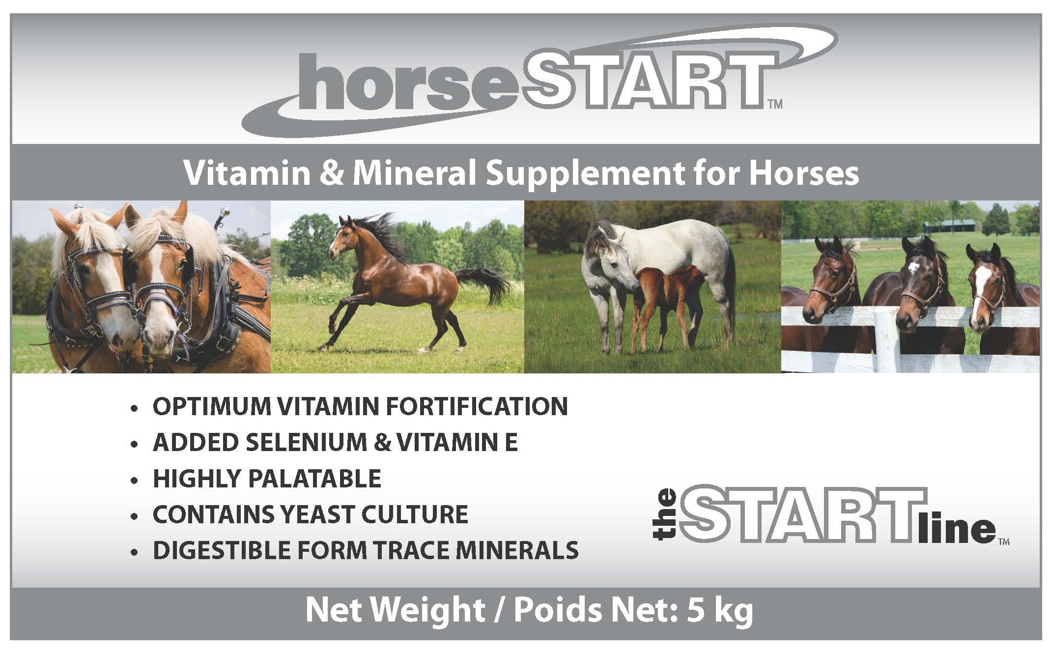 horseSTART Vitamin & Mineral Premix for Horses